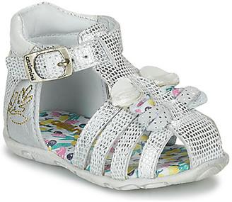 Catimini CYGNE girls's Sandals in Silver