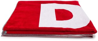 DSQUARED2 Logo Print Beach Towel