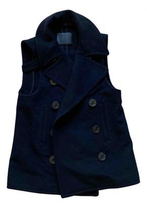 R 13 Blue Wool Coats