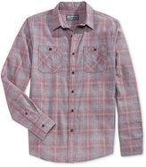 American Rag Men's Sketch Plaid Shirt, Only at Macy's