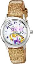 Disney The Princess & The Frog Kids' W002963 Rapunzel Analog Display Analog Quartz Watch