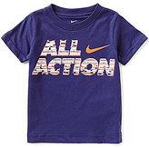 Nike Little Boys 2T-7 All Action Short-Sleeve Tee