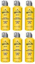 Got2b Glued Blasting Freeze Hairspray Aero, 12 Ounce (Pack of 6)