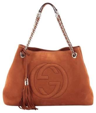 Gucci Soho Orange Leather Handbags