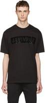 Markus Lupfer Black Sequin Survival T-shirt