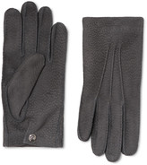 Alexander Mcqueen - Textured-suede Gloves