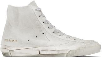 Golden Goose White Francy Sneakers
