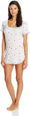 Honeydew Intimates Women's Raglan Sleep Shirt