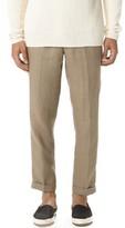 Vince Cropped Hemp Trousers