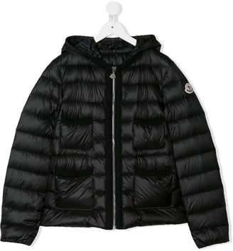 Moncler Enfant TEEN padded zip-up jacket