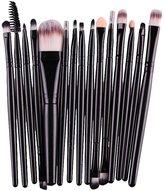 Mostsola 15 pcs/Sets Eye Shadow Foundation Eyebrow Lip Brush Makeup Brushes
