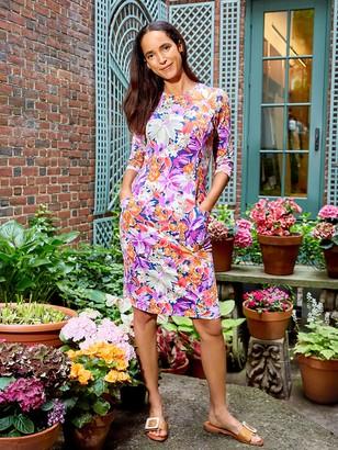 J.Mclaughlin Catalyst Dress in Palmer Floral