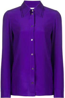 Victoria Victoria Beckham long-sleeve fitted shirt