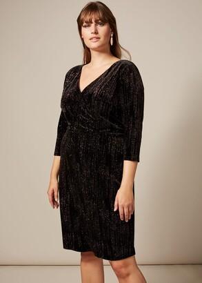 Phase Eight Noelle Sparkle Velvet Dress
