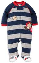 Little Me Boys' Monkey Microfleece Sleeper - Baby