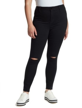 William Rast Trendy Plus Size Sculpted Skinny Jeans