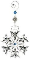 Waterford Snowflake Wisheses Goodwill Ornament 2013