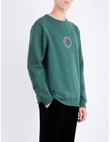 Stussy Logo-embroidered jersey sweatshirt