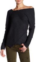 Free People Asymmetrical Knit Sweater