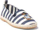 Ralph Lauren Little Kid Beakon Striped Espadrille