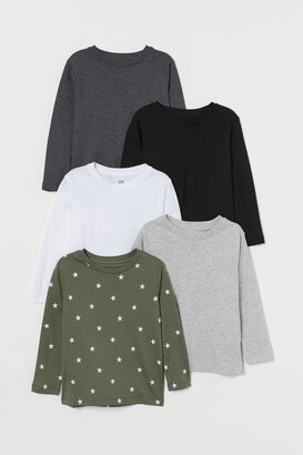 H&M 5-pack Jersey Shirts