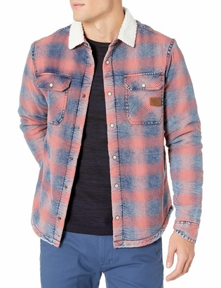 Buffalo David Bitton Men's Long Sleeve Button Down Sherpa Shirting