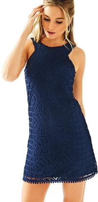 Lilly Pulitzer Mango Lace Shift Dress