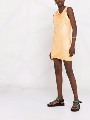 Kenzo Mesh-Panel Sleeveless Dress