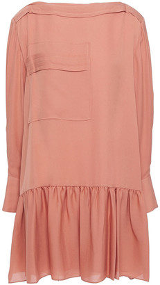 3.1 Phillip Lim Gathered Silk-crepe Mini Dress