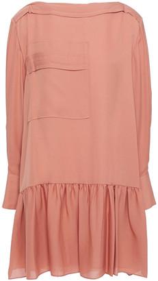 3.1 Phillip Lim Gathered Silk-crepe Mini Dress