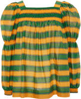 La DoubleJ Striped Cotton Blouse
