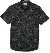 Billabong Men's Botanical Floral-Print Cotton Shirt