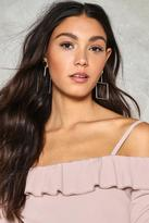 Nasty Gal nastygal Fair and Square Earrings