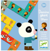 Djeco Giant Friends Dominos - 28 Pieces
