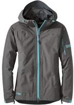 Outdoor Research Aspire Jacket - Women's Pewter/Typhoon M