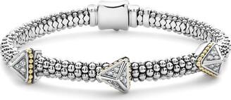 Lagos KSL Lux Diamond Pyramid Bracelet