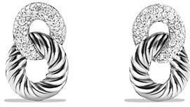 David Yurman Belmont Drop Earrings with Diamonds