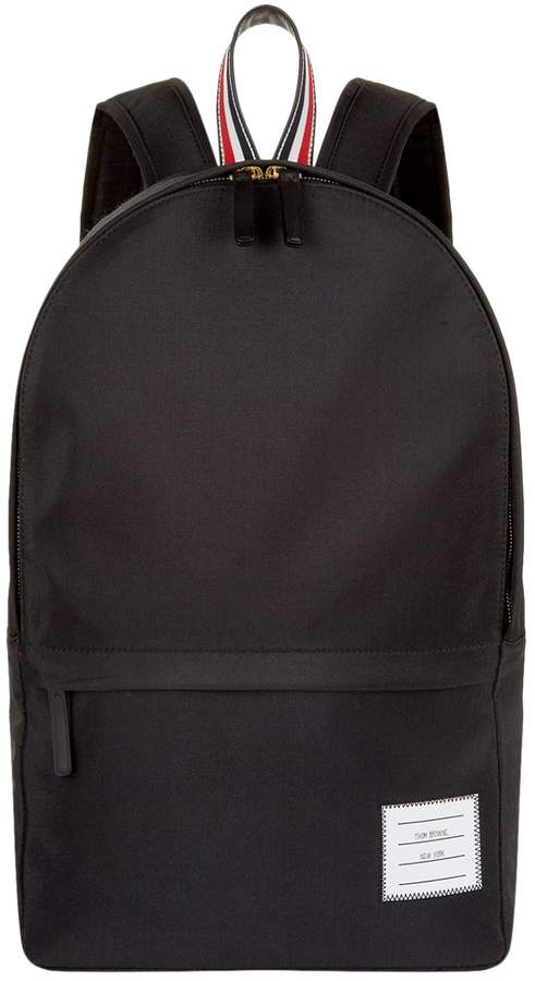 Thom Browne Unstructured Nylon Weave Backpack