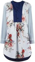 Antonio Marras contrast-bib shirt dress - women - Cotton/Polyamide/Spandex/Elastane - 40