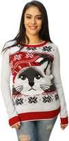 Ugly Chritmaweater Women' Chritma Kitty Light Upweater-mall
