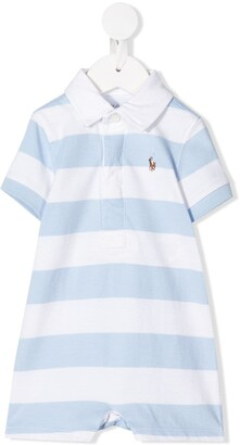 Ralph Lauren Kids Striped Rugby polo shorties