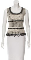 Carolina Herrera Sleeveless Knit Top