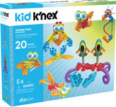 KID KNEX - Ocean Pals Building Set - 65 Pieces - Ages 3 and Up - Preschool Education Toy