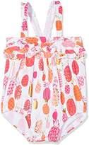 Hatley Baby Girls' Ruffle Swimsuit,12-18 Months