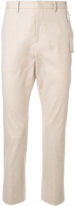 Wooyoungmi Belt-Detail Slim-Fit Trousers
