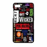 Broadway Musical Collage IPHONE 6s Case (Black Plastic)
