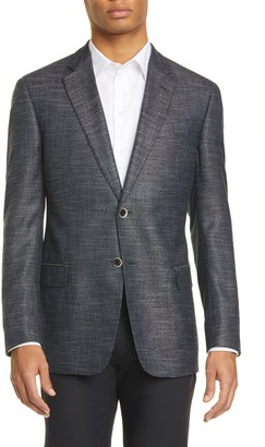 Emporio Armani G Line Trim Fit Solid Sport Coat