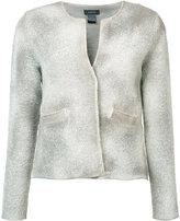 Avant Toi open jacket - women - Cotton/Polyamide/Linen/Flax/Wool - S