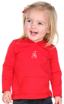Princess Linens Red Initial Hoodie - Infant