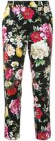 Dolce & Gabbana floral print cropped trousers
